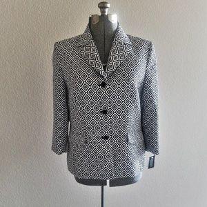 Kasper Womens Blazer Jacket Career NWT
